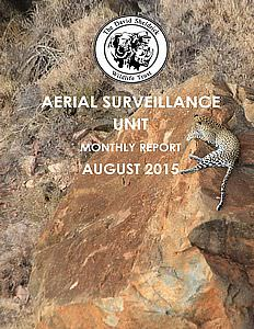 Aerial Survelliance Report for August 2015