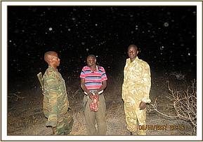 Poacher arrested with bushmeat at Kimweli