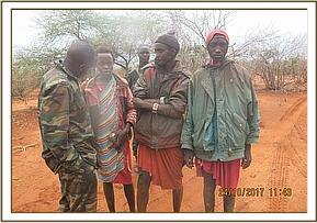 Herders arrested in the Ziwani area