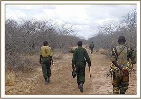 Hideout of poachers at kanziku area