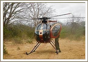 Chopper air take patrol in Gazi area