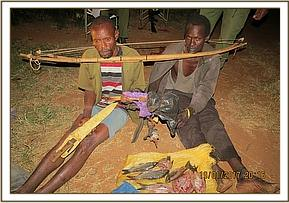 Poachers arrested at Ura downstream