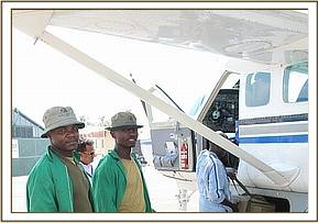 Abflug in Nairobi