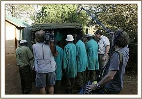 Loijuk's arrival at the DSWT is filmed by 60 minutes
