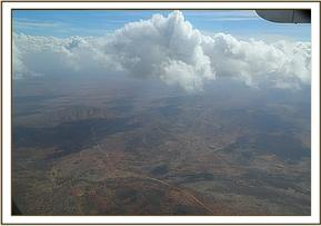 flying to Tsavo