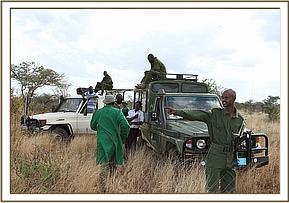 The Keepers and KWS go to capture the orphan