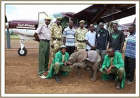 All those involved in the orphans rescue