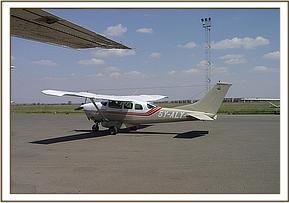 Arriving at Wilson Airport Nairobi