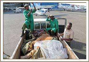 Maramoja ist in Nairobi gelandet
