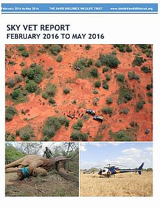 Sky Vet Report for June 2016