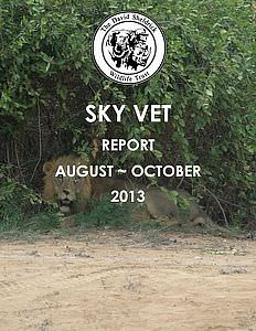 Sky Vet Report for October 2013